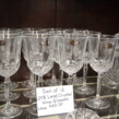 Set of 24% Lead Crystal Wineglasses (12)
