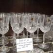 Set of 24% Lead Crystal Wineglasses (12)